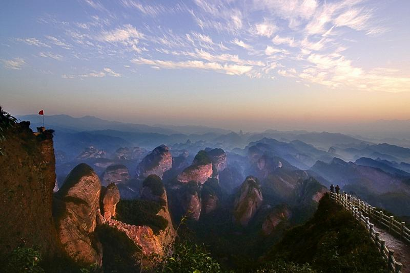 Bajiaozhai National Forest Park in Guangxi