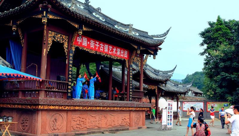 Trip to Jiezi Old Town Chengdu