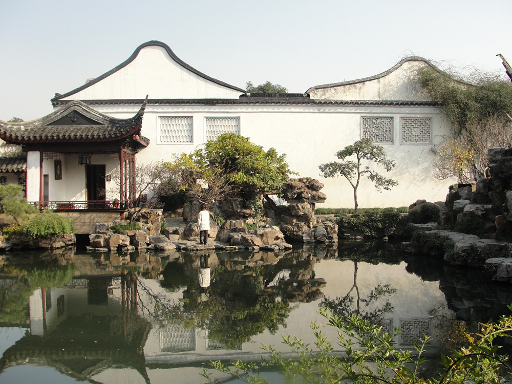 Ursule's Stroll in the Classic Suzhou Gardens