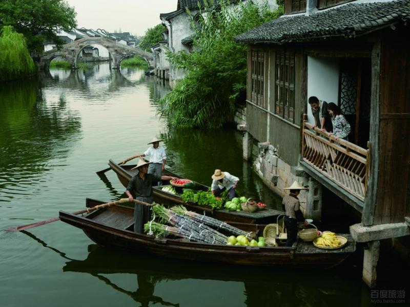 travel to Wuzhen Water Town