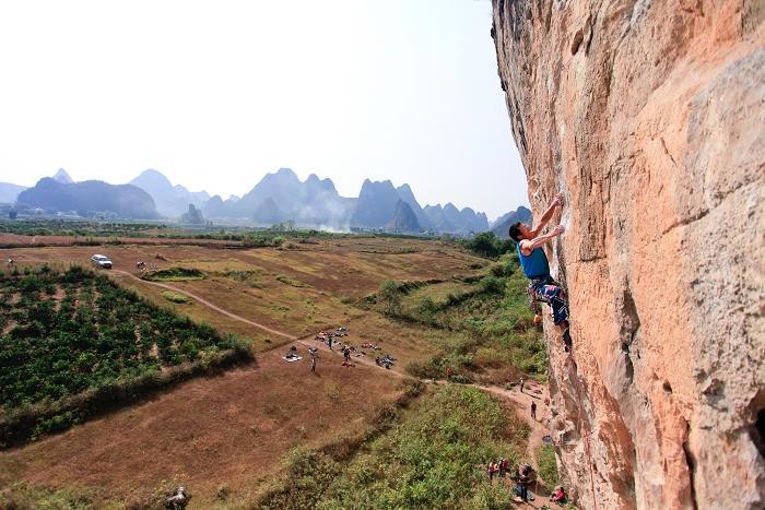 Yangshuo Climbing
