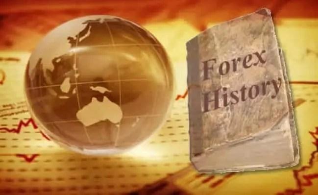تاريخ سوق العملات