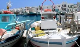 Paros Island Greece Naousa