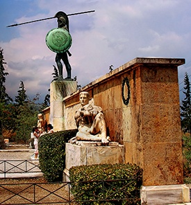 Thermopylae_Greece_Spartans_monument_of_Leonidas