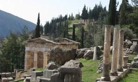 Sitio arqueológico de Delfos Grecia