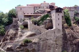 Meteora Grecia el Santo Monasterio de Gran Meteoron