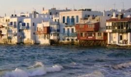 Isla de Mykonos Grecia pequeña Venecia