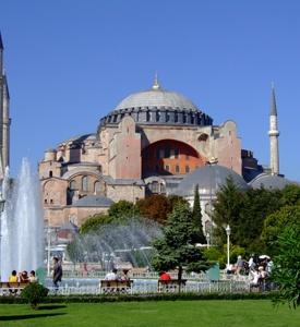 Estambul Turquía Hagia Sophia Costa Egeo Turquía