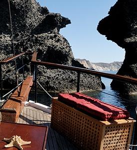 Isla de Santorini Grecia, Crucero por el volcán Estambul Bodrum Rodas Santorini