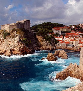 Croatia-Dubrovnik-Medieval-fortresses Croacia Bosnia Herzegovina Santorini