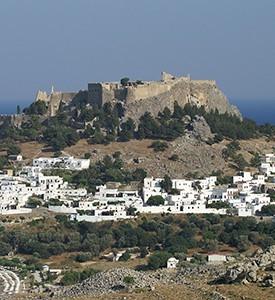 Isla de Rodas Grecia Castillo de Lindos Atenas 3 continentes