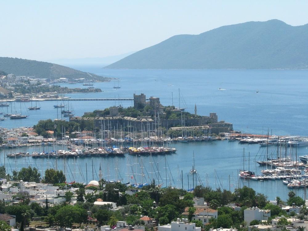 Bodrum_Castle_of_St._Peter_Turkey Estambul Bodrum Rodas Santorini