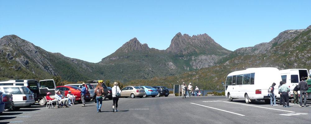 Cradle Mountain car park