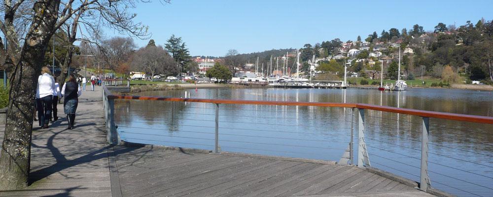 Tamar River Boardwalk - Launceston