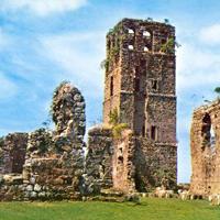 Panama City's historical ruins