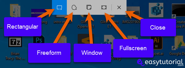 Snip And Sketch How To Open Windows Tutorial 12