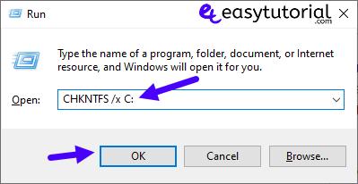 Chkdsk Boot Windows Fix 1 Chkntfs X C