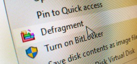 """How to Add """"Defragment"""" in Drive Context Menu on Windows 10"""