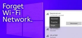 How to Forget/Remove a Wi-Fi Network on Windows 10