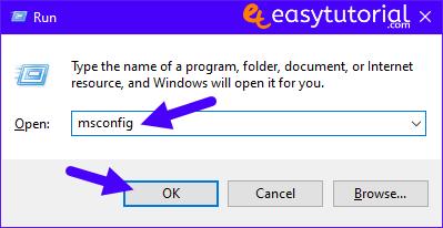 Bcdedit Add Safe Mode Boot Windows 10 Boot Menu Startup Msconfig 3 Msconfig Run