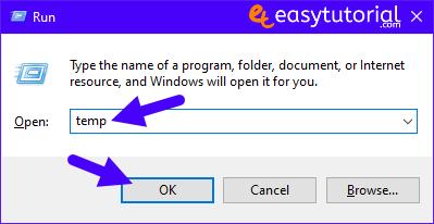 Clean C Drive Windows 10 Speed Up Pc Computer Fast Boost 1 Temp Run