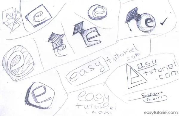 Esquisse Logo Easytutoriel1
