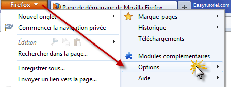 Firefox Options