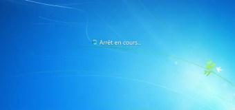 Windows Arret En Cours