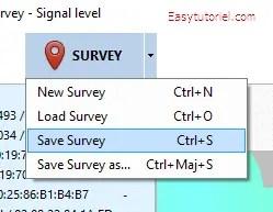 07 netspot enregister visite survey