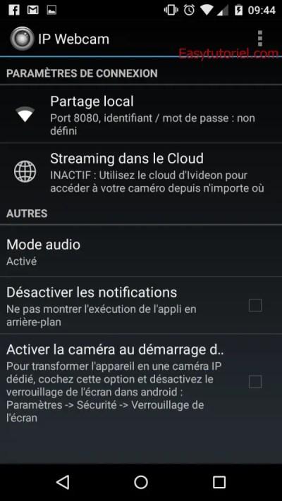 5 ip webcam streaming