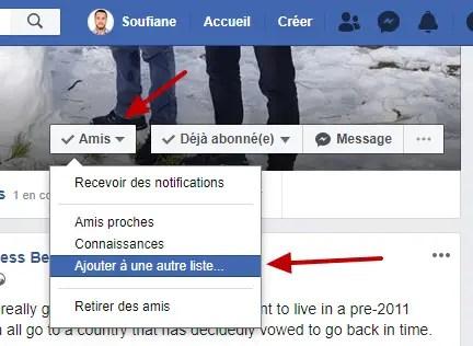 Amis Ajouter A Une Autre Liste Facebook