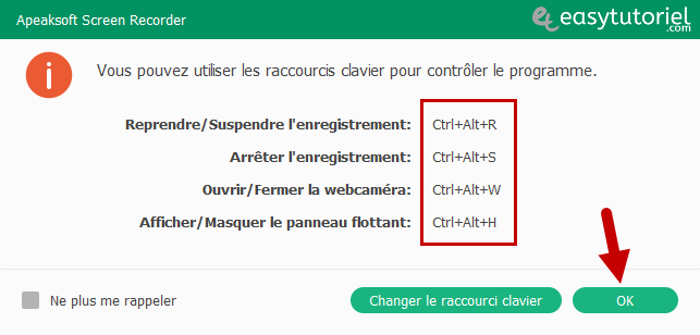 Apeaksoft Screen Recorder Capture Ecran Windows 10 Tutoriel 5