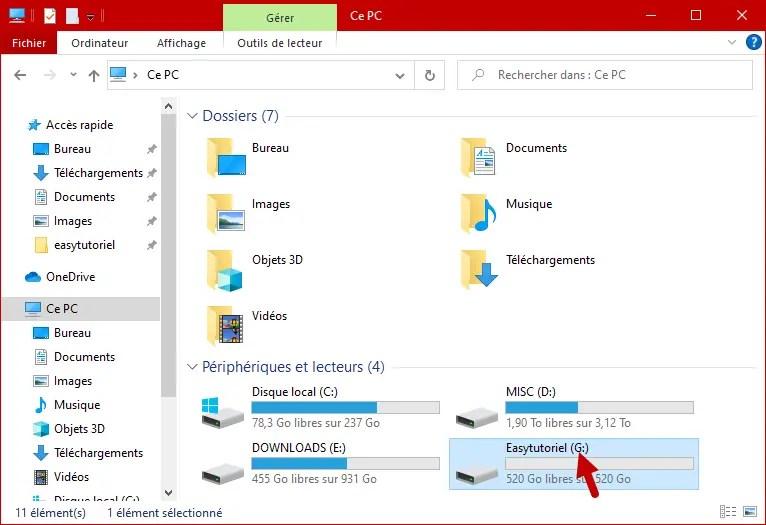 Changer Lettre Disque Partition Peripherique Windows 10 8