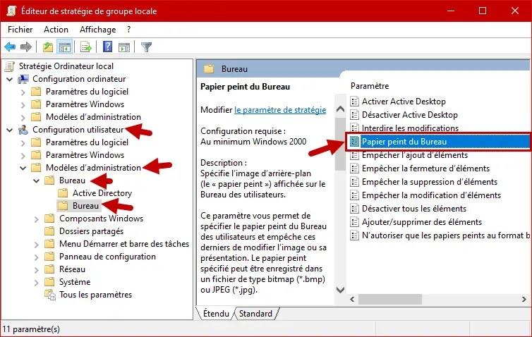 Fond D Ecran Par Defaut Tous Les Utilisateurs Windows 10 2