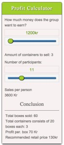 Complex Profit Calculator js used in Norway for non-profits
