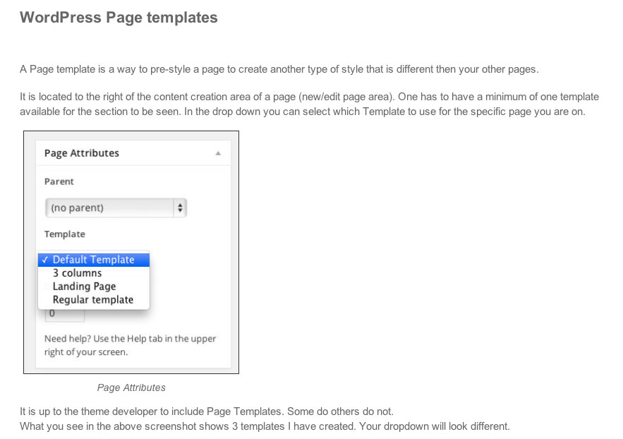 Creating customizations for each page or post in WordPress