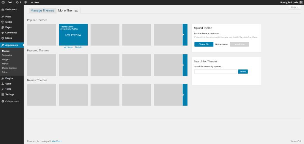 WordPress-Themes-quick-draft-Emil