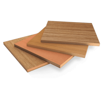 Color PVC lined plywood