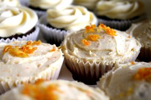 Citrus and Glace Cherry Cupcakes Recipe – Gluten free, Wheat free, Nut free, Dairy free