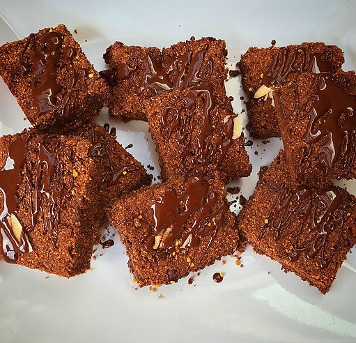 Gluten Free Chia Seed Chocolate Brownies – Dairy Free, Nut Free, Egg Free, Paleo