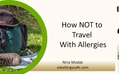 EAS 040: How NOT to Travel With Allergies