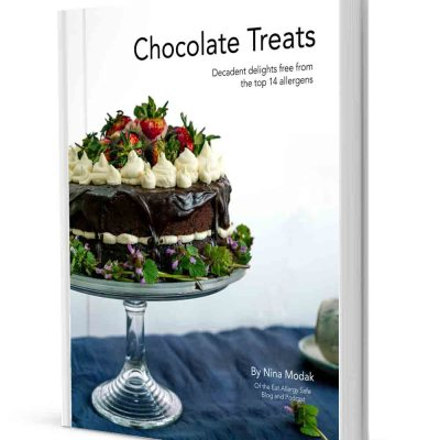 Chocolate Treats: decadent delights free from the top 14 allergens by Nina Modak Eat Allergy Safe