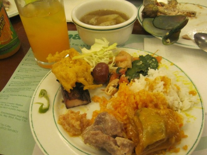 Food at Cabalen Buffet