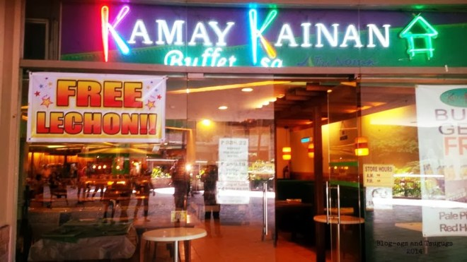 Eat All You Can Trinoma - Kamay Kainan