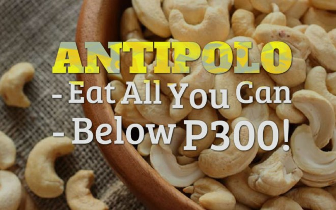 Antipolo Eat All You Can Below 300