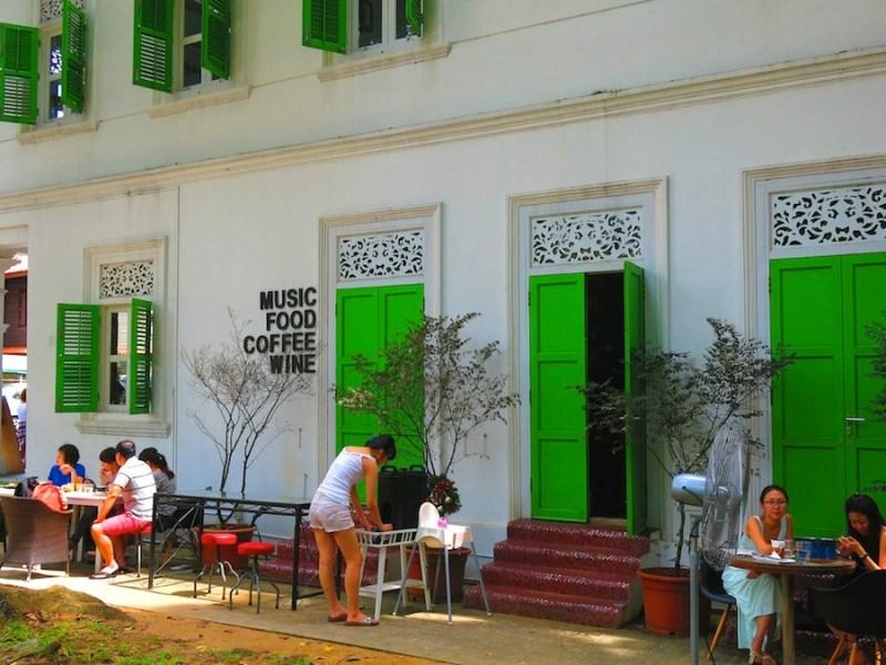 Symmetry green door