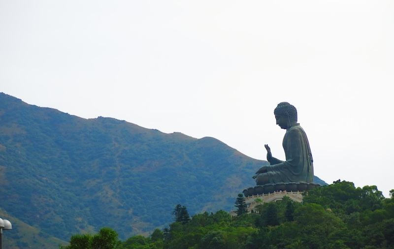 Big Buddha Side View