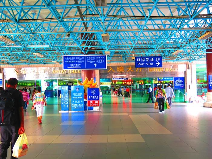 Zhuhai Macau Border