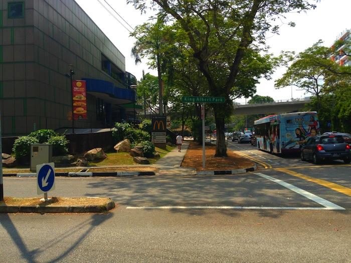 King Albert Park (KAP) Signboard in Bukit Timah, Singapore