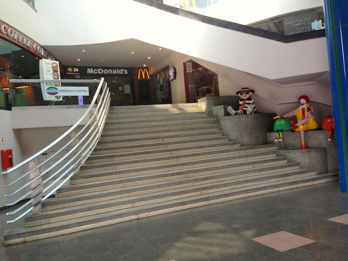 King Albert Park (KAP) Staircase at Bukit Timah, Singapore